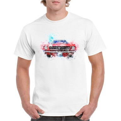American Muscle Printed T-Shirt