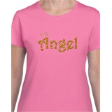 Angel Printed Ladies T-Shirt - ABS005