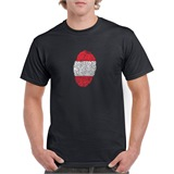Austria Thumbprint Printed T-Shirt - ABS020