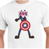 Captain Panther T-Shirt - MAS001