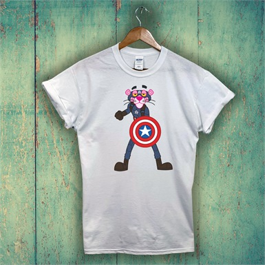 Captain Panther T-Shirt