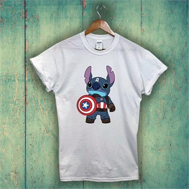 Captain Stitch Printed T-Shirt