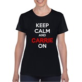 Carrie On Ladies T-shirt - ABS039