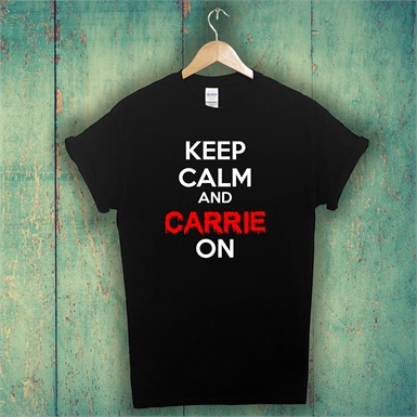Carrie On Mens T-Shirt