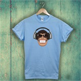 Cheeky Monkey Mens T-Shirt - ANI009
