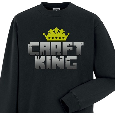 Craft King Mens Printed Sweatshirt
