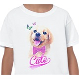 Cute Puppy Kids T-Shirt - KID014