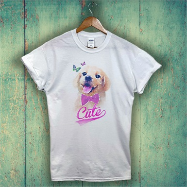 Cute Puppy Kids T-Shirt