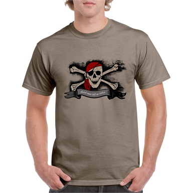 Dead Men Tell No Tales Printed T-Shirt