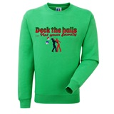 Deck the Halls Mens Printed Sweatshirt - FUN022SW