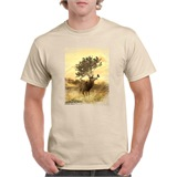 Distressed Deer T-Shirt - ANI004