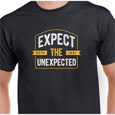 Expect The Unexpected Printed T-Shirt
