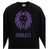 Fearless Kids Printed Sweatshirt - KID024SW