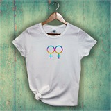 Female Gender Ladies Printed T-Shirt - GEN001