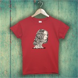 FlowerBed Hair Printed T-Shirt - ABS002