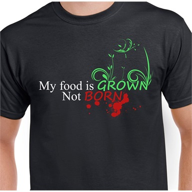 Grown, Not Born Mens Printed T-Shirt