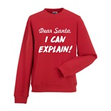 I Can Explain! Mens Printed Sweatshirt - FUN023SW