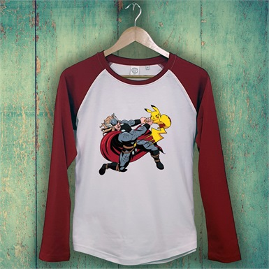 I Choose You Printed Baseball Tee