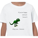 If you're happy an you know it Kids T-Shirt - KID004