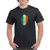 Ireland Thumbprint Printed T-Shirt - ABS011
