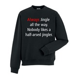 Jingler Mens Printed Sweatshirt - FUN031SW