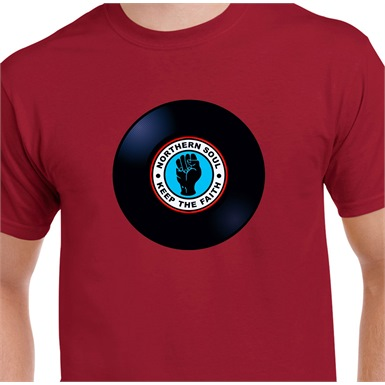 Keep The Faith Vinyl T-Shirt