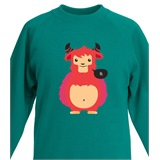 Lil Monster Kids Printed Sweatshirt - KID021SW