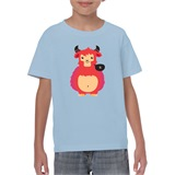 Lil' Monster Kids Printed T-Shirt - KID007