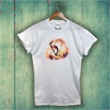 Lion Printed T-Shirt - ANI005