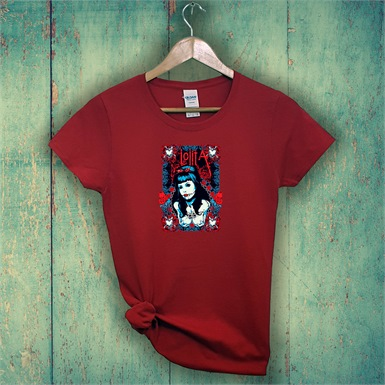 Lolita Ladies Printed T-Shirt