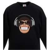 Monkey Kids Printed Sweatshirt - KID020SW