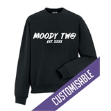 Moody Tw@ Mens Printed Sweatshirt - FUN030SW