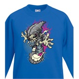 Radiskull Kids Printed Sweatshirt - KID023SW