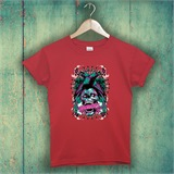 Red Anarchy printed T-Shirt - POR004