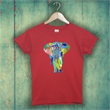 Red Elephant T-Shirt - ANI008