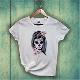Skullgirl Printed Ladies T-Shirt - ABS015