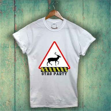 Stag Party Printed T-Shirt