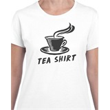Tea Shirt Ladies Printed T-Shirt - FUN040
