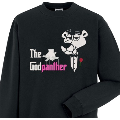 The Godpanther Mens Printed Sweatshirt