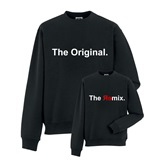The Original and The Remix Printed Sweater Set - FUN028SW