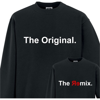 The Original and The Remix Printed Sweater Set