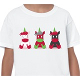 Three Unicorns Kids T-Shirt - KID003