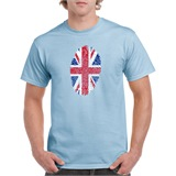 UK Thumbprint Printed T-Shirt - ABS003