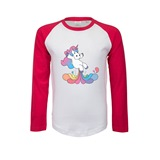 Unifart Kids Printed Baseball Tee - KID009BB