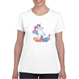 Unishart Printed Ladies T-Shirt - FUN001