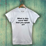 White What is this word? Kids T-Shirt - KID001