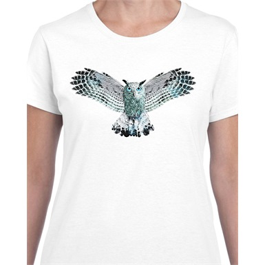 Wisdom Printed Ladies T-Shirt